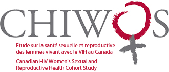 CHIWOS (Canadian HIV Women's Sexual and Reproductive Health Cohort Study) Logo