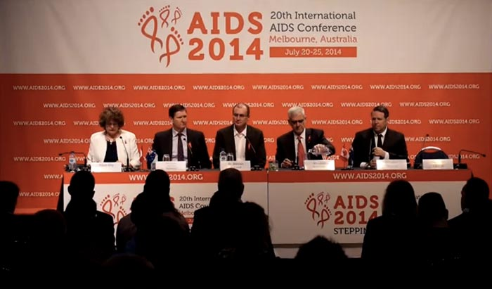 Press Conference - BC Queensland TaP - International AIDS Conference