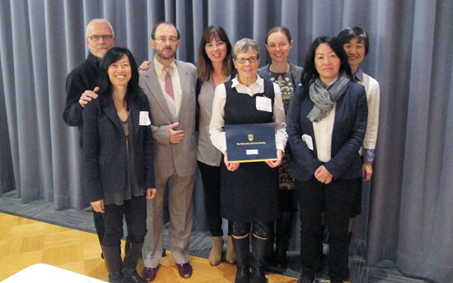 2013 Award for Excellence in Interprofessional Education Teaching