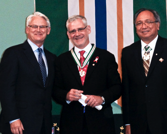 Gordon Campbell and Julio Montaner