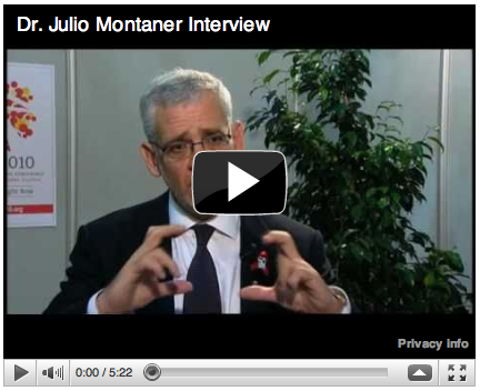 Dr. Julio Montaner NIDA Interview